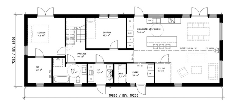 Husbyggarskolan- Planlösningen